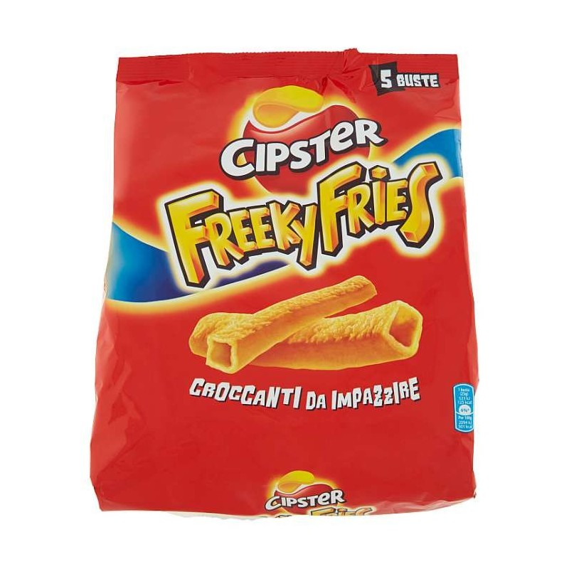 Cipster Freeky Fries 5 x 25 g